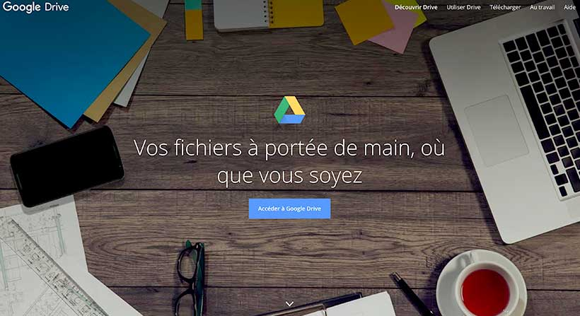 google-drive-outil-w5d-productions