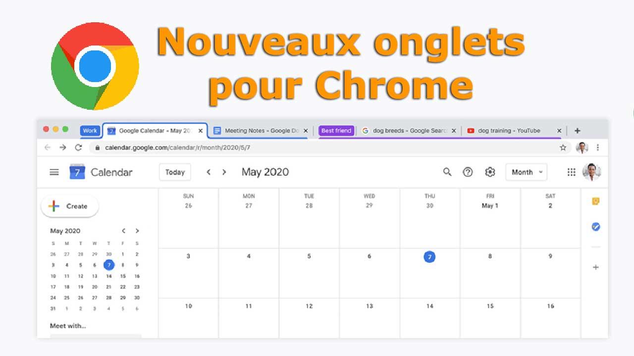 Google annonce l'arrivée de nouveaux onglets pour le navigateur Chrome